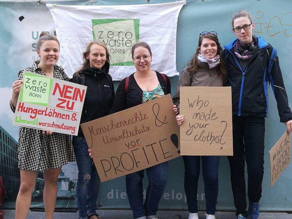 Demo gegen Primark